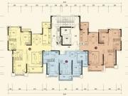 恒大城10#-2-3户型3室2厅2卫137.39㎡