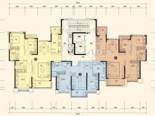 恒大城10#-2-1户型3室2厅1卫 116.45㎡