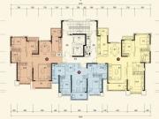 恒大城10#-1-2户型2室2厅1卫88.98㎡