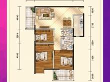 五堰新天地E2户型3室2厅2卫2阳台 111.8㎡