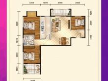五堰新天地F1-1户型3室2厅1卫2阳台 89.94㎡
