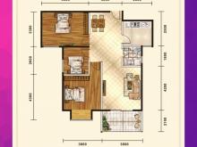 五堰新天地F1-3户型3室2厅1卫1阳台 95.62㎡
