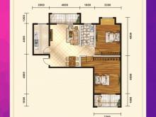 五堰新天地F1-4/F2-1户型2室2厅1卫2阳台 87.93㎡