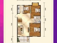 五堰新天地F4-2户型3室2厅1卫1阳台 91.12㎡