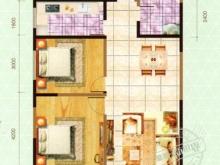 嘉和新世界F户型3室2厅1卫1阳台 95㎡