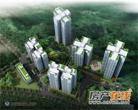 东岳尚城效果图