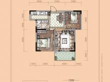 卢浮宫B7户型2室2厅1卫 83㎡