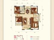 金色里程2号楼 C户型3室2厅2卫119.68㎡