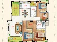东风阳光城四期锦程世家I户型4室2厅2卫2阳台 147㎡