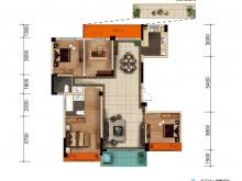 大美盛城3期美珑公园C2户型4室2厅2卫2阳台 138㎡