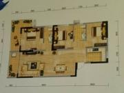 冠城美立方E户型3室2厅2卫2阳台110.19㎡