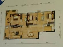 冠城美立方E户型3室2厅2卫2阳台 110.19㎡