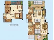 公元海A1户型4室3厅2卫2阳台 169.62㎡