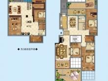 公元海A2户型3室2厅2卫2阳台 142.49㎡