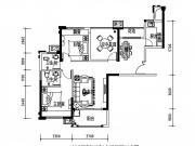 公元海04户型2室2厅2卫96.28㎡