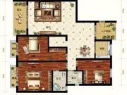 亚之洲广场D3户型3室2厅2卫1阳台139.2㎡