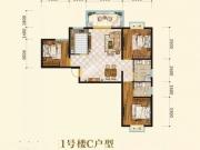 神定澜湾C户型3室2厅2卫111.76㎡