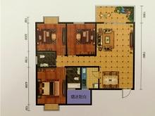 宏锦天地A户型3室2厅2卫 117.85㎡