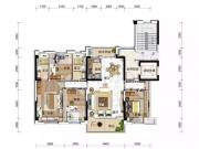 房县碧桂园YJ140户型4室2厅2卫2阳台143㎡