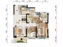 房县碧桂园YJ115户型3室2厅2卫2阳台 119㎡