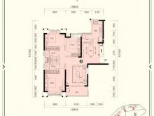 恒大城•御峰③户型3室2厅2卫 130.82㎡