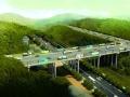 32米宽 林安国际商贸物流城公路铁路伏龙大桥已开工