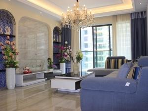 祥安东城国际花园117平米精装样板间实拍