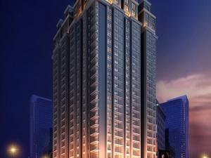 朝阳新天地已建至21层  预计9月份开盘
