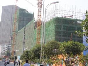 美盛积家广场拒绝一层不变  主体工程已至地上8层