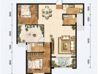 北京路湖北工业职院锦绣翰林3室2厅2卫117平米好房出售