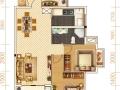 居中岳华庭106平米实用三房 让阳光照耀品质生活