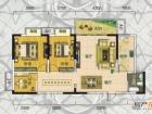 翰林世家禧园建筑面积97.28平米清水房实拍