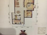 火车站畔山林语3室毛坯房户型方正随意改造