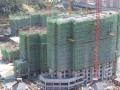 美珑公园最新工程进度 21号楼即将封顶