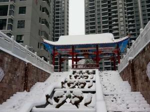 看到如此雪景 只想在这里和爱人一起白头