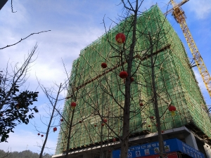 恒融枫尚城三期最新工程进度 全三室户型目前认筹中