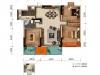 空间布局合理 细节处理巧妙 这个三房诠释了什么叫舒适