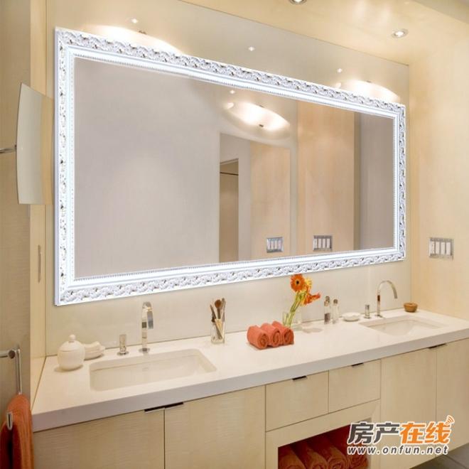 没有窗户的卫生间光线不好怎么装效果更好?
