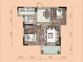 卢浮宫二期21#、22#号楼户型一览