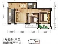 唐城中岳汇小户型两室一厅超高性价比房