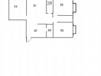 三堰冠城世家电梯房大三居88万精装修划片二堰小学周边新合作