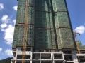 汇通金港6月工程进度:1#封顶,2、3#建至23层