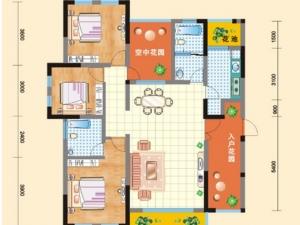 实拍亿科红郡5号楼一梯一户建面126平米清水样板房