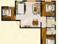 神定澜湾1号楼建面约111.76㎡户型毛坯房实拍