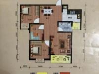 北京路熊家湾转盘三室二厅104平米6楼毛坯新房68万转合同