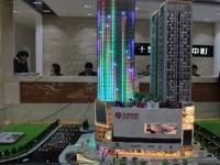 市中轴区域六堰国际金融大厦 大洋百货楼上 90平米毛坯大两室出售