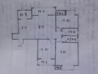 民生国际 毛坯3室126平62万电梯房 免税