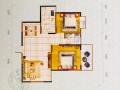 小编看房:嘉和新世界3#楼建筑面积约82.22平米样板间
