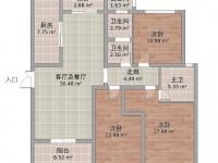 北京路 百强世纪城3室毛坯 诚意出售 全款转合同