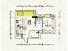 莊儀橡樹灣2#-B戶型2室2廳1衛 61.90㎡實拍